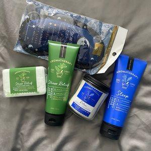 Bath and Body Works aromatherapy bundle